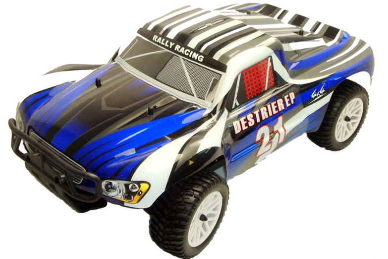 Himoto 1:10 Destrier Brushless Short Course Blue