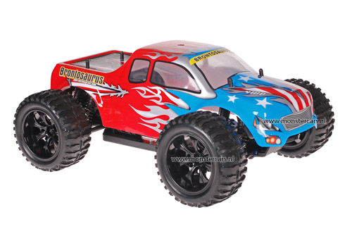 Himoto 1:10 Truck American Flag Red 2.4GHz AANBIEDING!