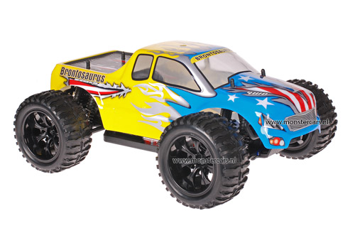 Himoto 1:10 Truck American Flag Yellow 2.4GHz AANBIEDING!