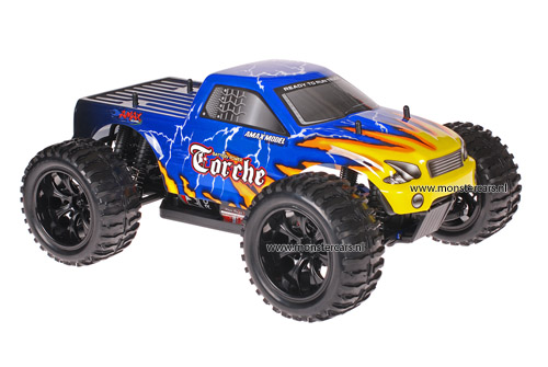 Himoto 1:10 Truck Blue Yellow Atlas AANBIEDING!