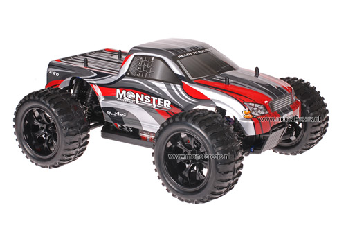 Himoto 1:10 Truck Grey Red 2.4GHz AANBIEDING!