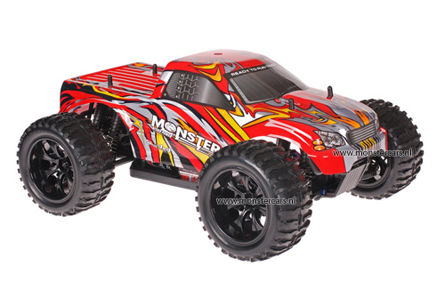 Himoto 1:10 Truck Red Bull 2.4GHz AANBIEDING!
