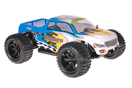 Himoto 1:10 Truck White Blue 2.4GHz AANBIEDING!