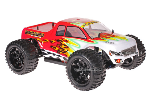 Himoto 1:10 Truck White Red 2.4GHz AANBIEDING!