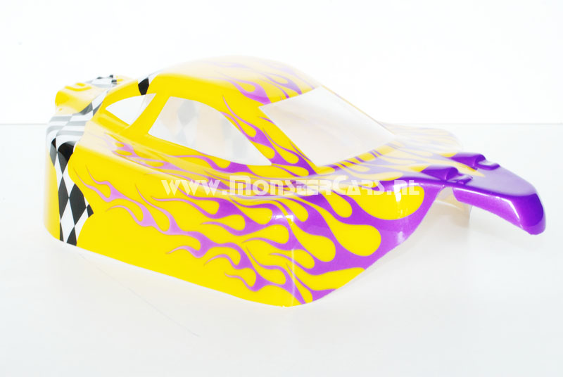 Casing Buggy Yellow Flames