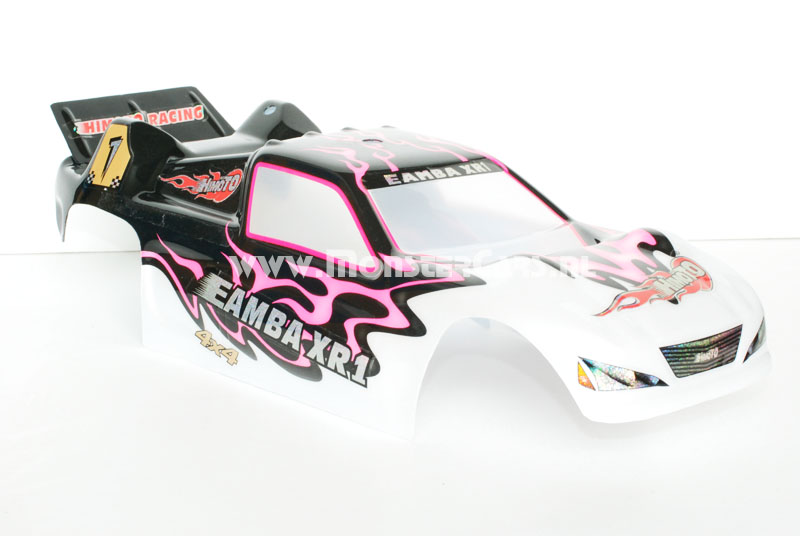 Casing Truggy Black Pink