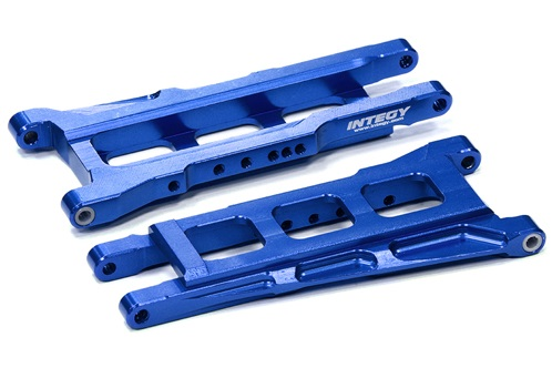Integy T8596BLUE T2 Lower Suspension Arm Stampede/Slash 4x4