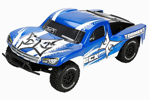 ECX Torment 1:10 2WD Brushless Short Course Truck Blue White