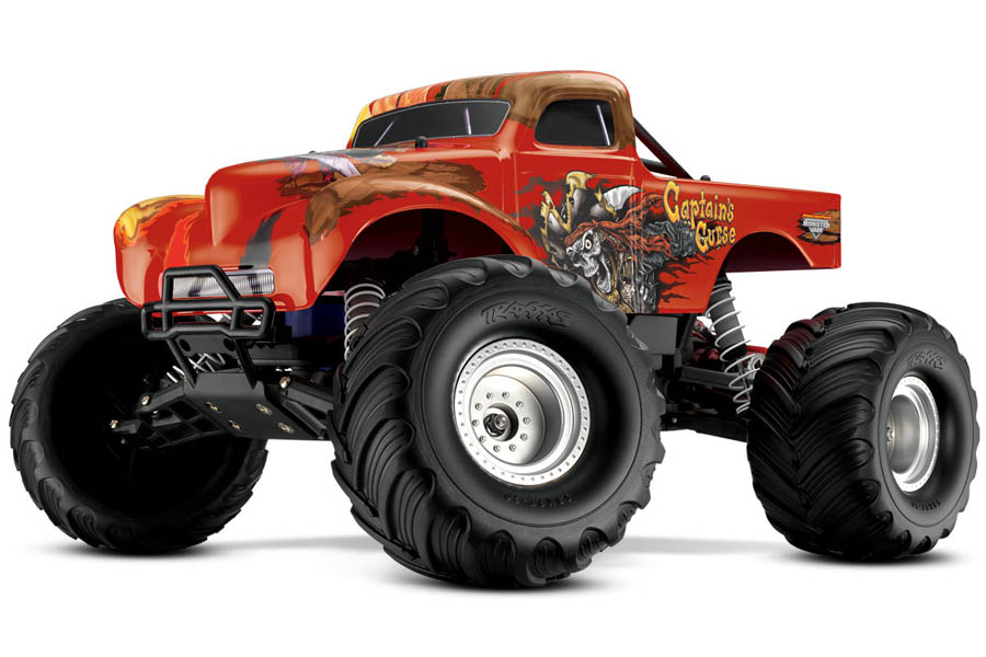 Traxxas Captain's Curse MEGADEAL! [Brushless optie]