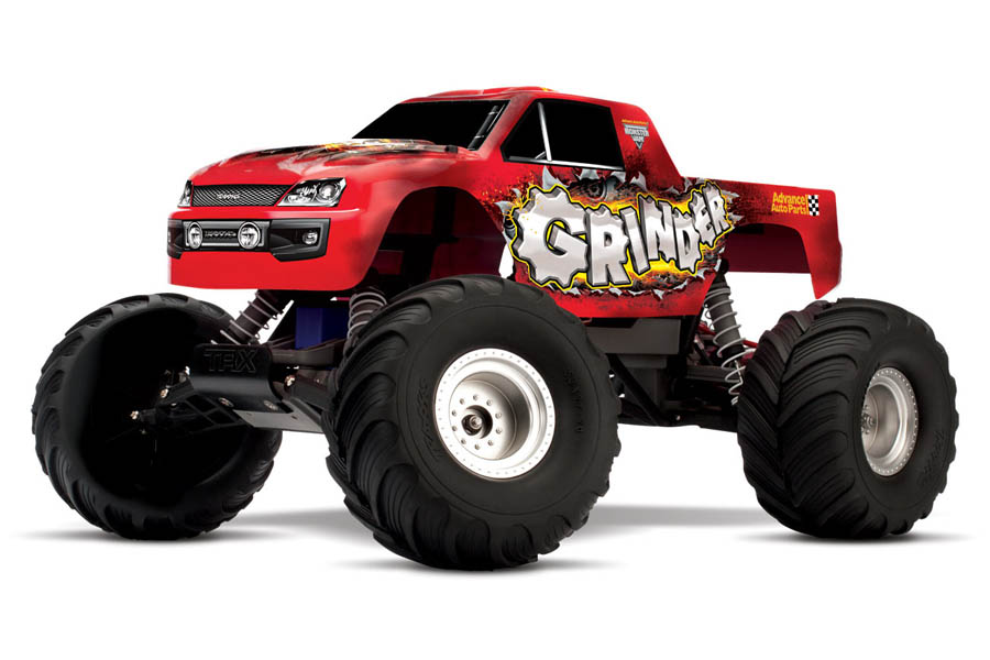 Traxxas Monster Jam Grinder SUPERDEAL! [Brushless optie]
