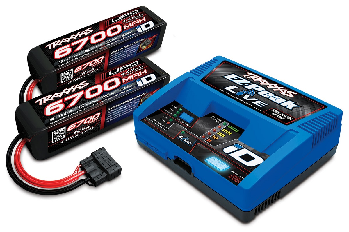 Traxxas Intelligent LiPo Battery Charger Completer Pack TRX2993G