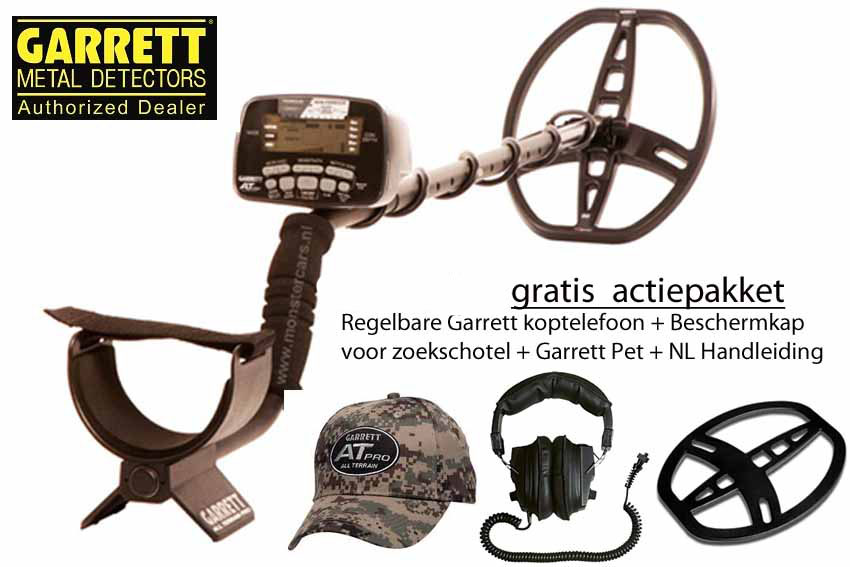 "Garrett AT PRO International + ""Actiepakket AANBIEDING!"