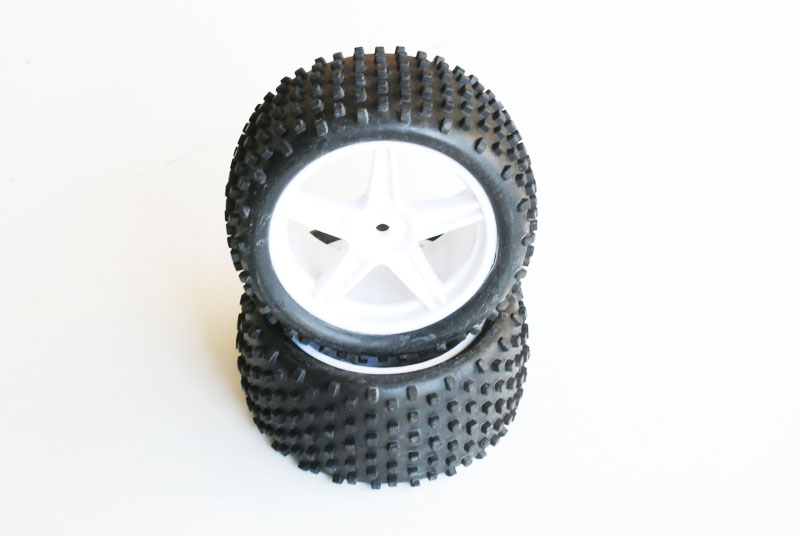 06010 Velg + Band WIT BUGGY VOOR (2St)
