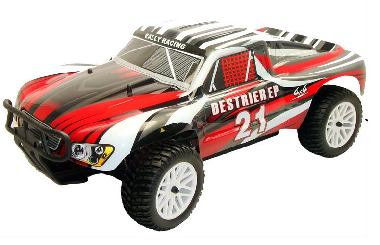 Himoto 1:10 Destrier Brushless Short Course Red
