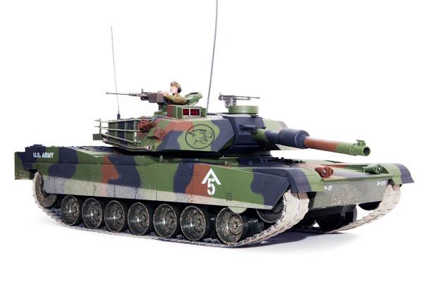 Hobby Engine Abrams M1 1:16 Forest RC Tank AANBIEDING!