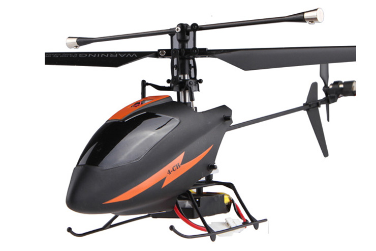 RC Single Blade Darkskin Helicopter 2.4 GHZ