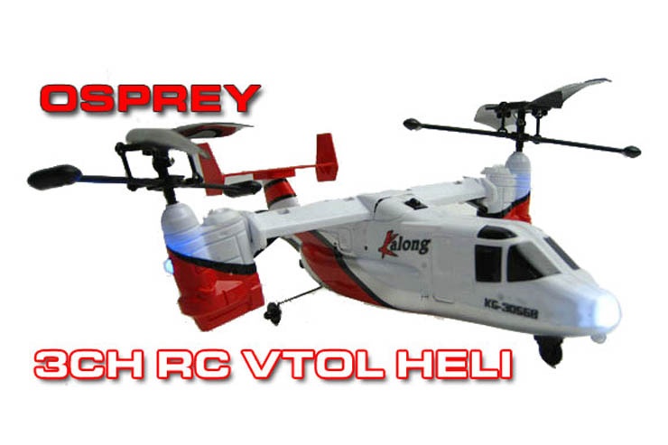 RC Mini 2CH Kalong Twin Rotor Heli