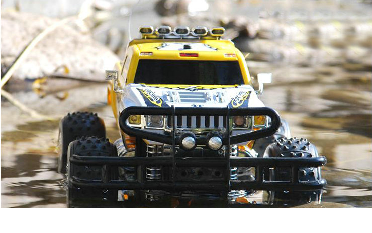 RC Amfibie 4WD Racing Truck